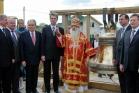 Митрополит Филарет и почетные гости, 10 мая 2008 г.
