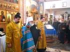 Приезд Владыки Филарета, пограничников и гостей на торжественное Богослужение