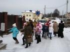 8 января 2012 г. - поздравление жителей  Тарасова с Рождеством Христовым (рис.1)