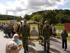 9 сентября 2012 г. - Встреча иконы с частичками святых мощей преподобного Александра Свирского (рис.1)
